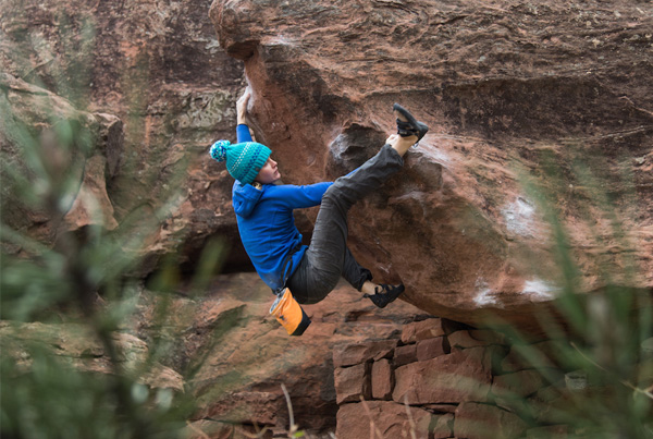 Bouldering in Albarracin